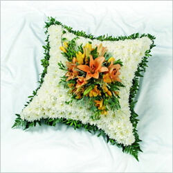 Bouquet Funeral cushion
