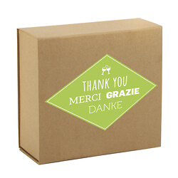 'Many thanks' box set