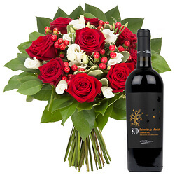 Thank you with Merlot Primitivo - ��SUD��