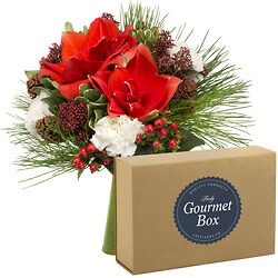 Pine cone with « Gourmet » box set