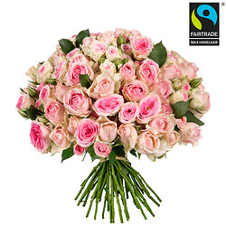 'Sweetness' bouquet of roses
