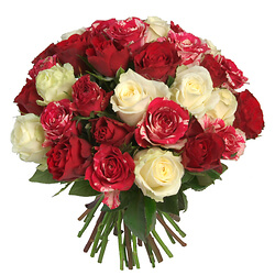 Bouquet de roses 'Passion'
