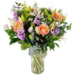 livraison de fleurs à domicile - bouquet de fleurs - fleuriste