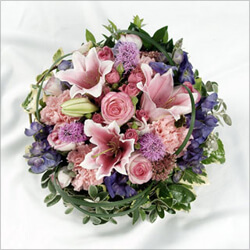 Bouquet Funeral flower arrangement