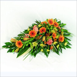 Bouquet Luminous Funeral arrangement