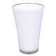 Bunte Vase - small - weiß