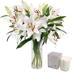 Bouquet White lily