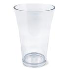Transparent medium vase
