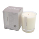 Cotton flowers candle