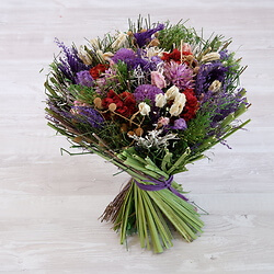 Lilac Dried Flower Bouquet