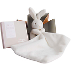 Soft bunny cuddly toy